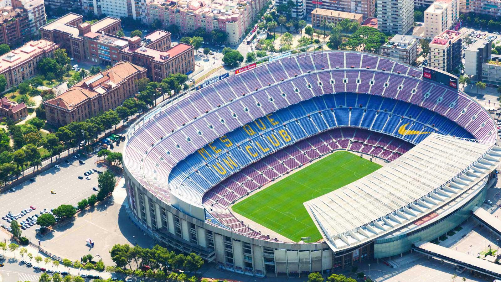 Camp Nou, o lendário estádio do Barcelona, terá rede 5G para transmissões esportivas