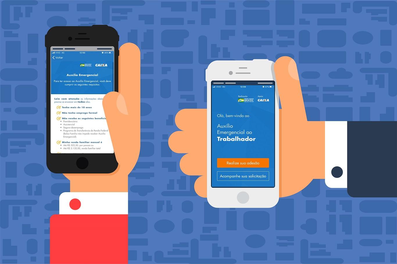 Consulte saldo e faça pagamentos com o App Caixa