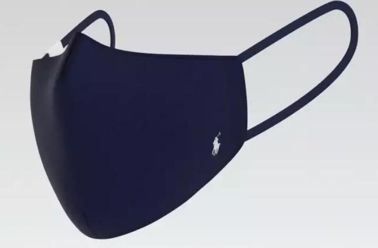 Ralph Lauren revelou novo conjunto de máscaras com logotipo da Polo