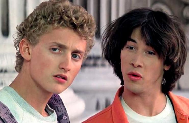 """Keanu Reeves e Alex Winter sobre como os Beatles ajudaram em """"Bill & Ted 3"""""""