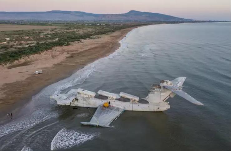 Um dos aviões mais únicos do mundo transformado em atração pública