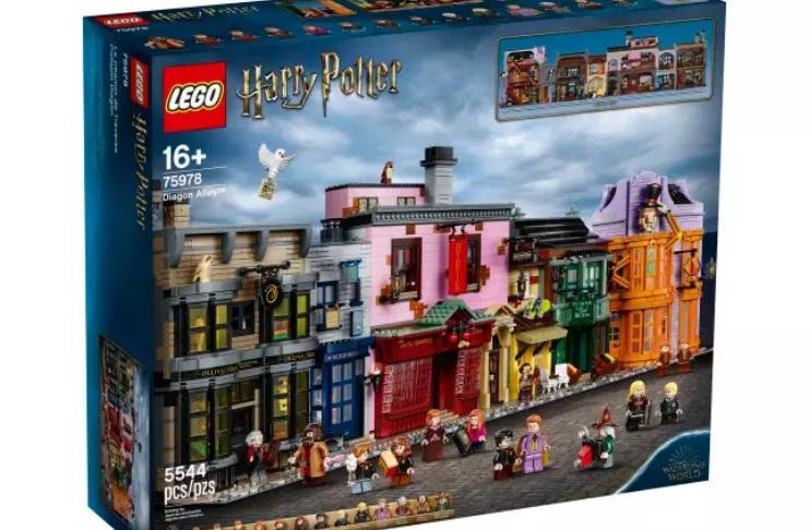 Harry Potter: Agora você pode comprar um conjunto de Lego do Beco Diagonal