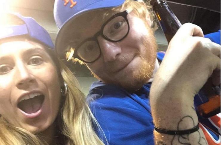 Ed Sheeran e esposa Cherry Seaborn dão boas-vindas à primeira filha