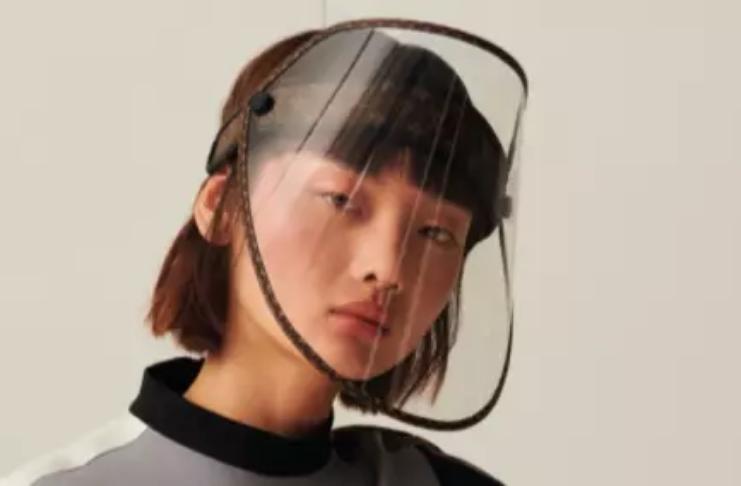 Louis Vuitton está lançando uma viseira facial por £ 750