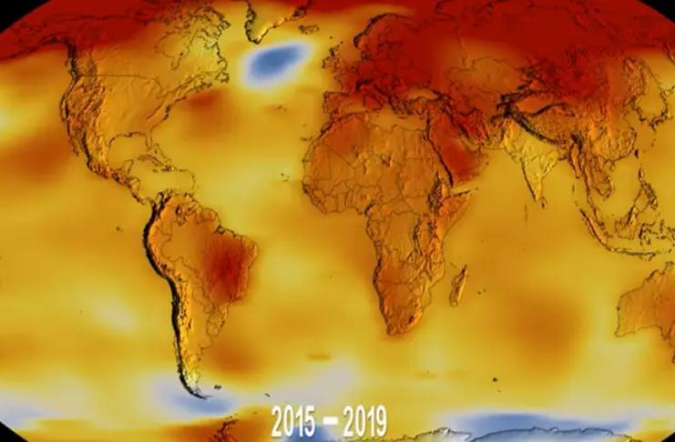 Terra está caminhando para temperaturas nunca vistas em 50 milhões de anos