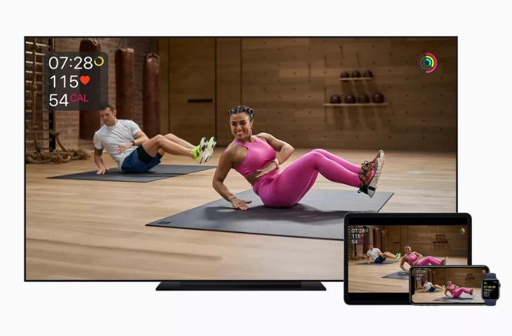 Apple anuncia exercícios virtuais com Fitness Plus