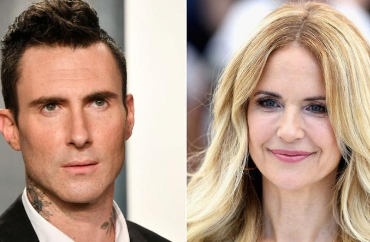 Adam Levine diz que Kelly Preston o ensinou a dar 'beijo de cinema'