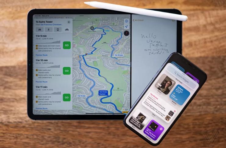 Apple: iOS 14 e iPadOS 14 estão começando a ser implementados