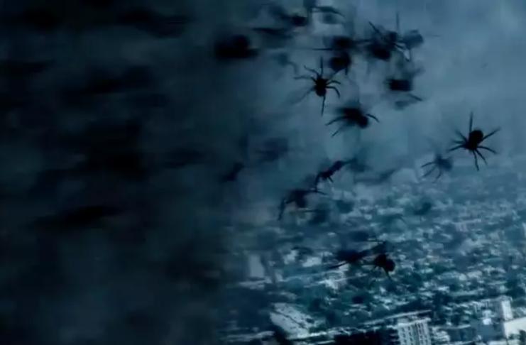 Saiu o primeiro trailer de filme sobre aranhas dentro de um tornado