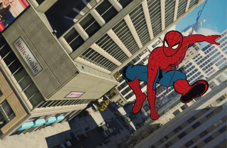 Homem-Aranha: Miles Morales está ganhando incrível roupa animada do Aranhaverso