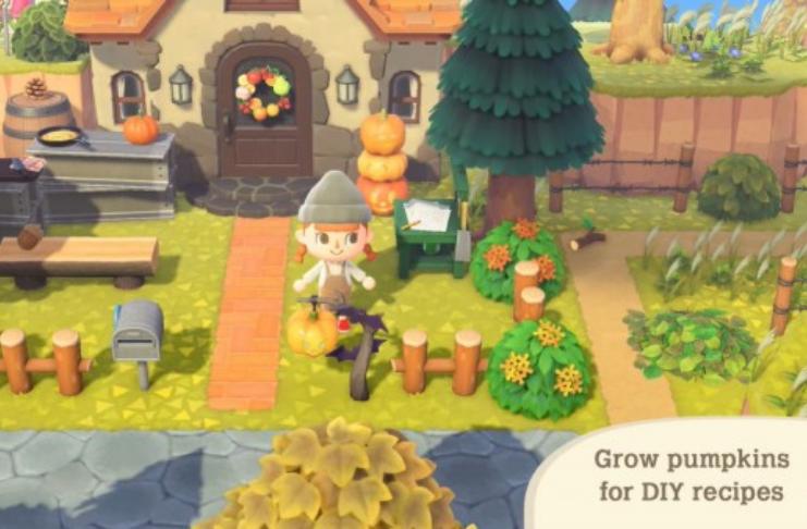 É temporada de Halloween agora no Animal Crossing: New Horizons