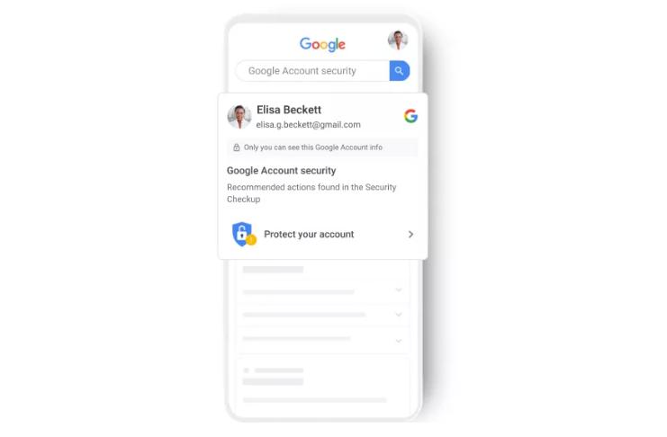 Google está adicionando alertas de segurança de conta entre aplicativos no iOS