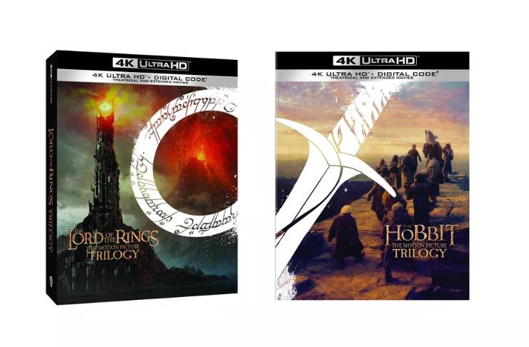 Trilogias de 'O Senhor dos Anéis' e 'O Hobbit' estão sendo lançadas em 4K Ultra HD Blu-ray