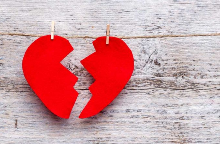 Ciência diz que corações partidos são reais