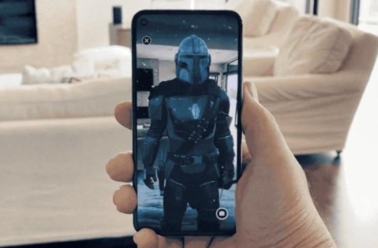 Google e Disney se unem para experiência de realidade aumentada de The Mandalorian
