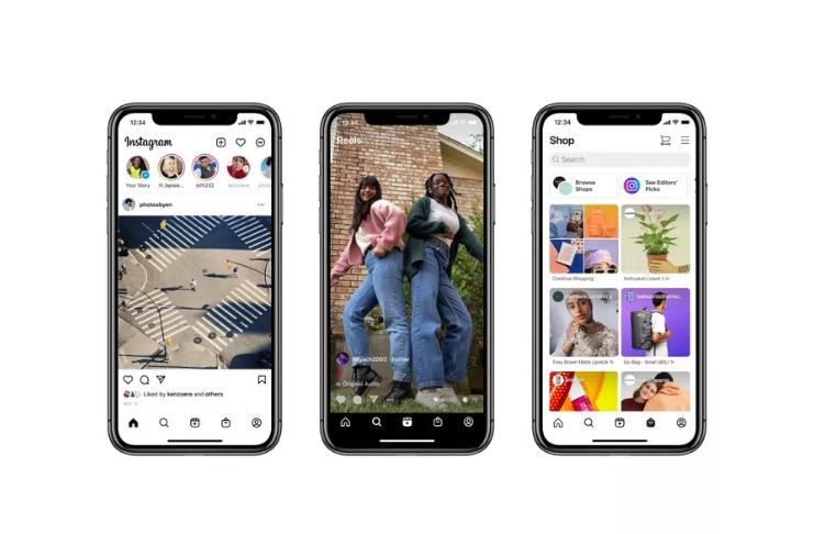 Instagram redesenha tela inicial pela primeira vez em anos