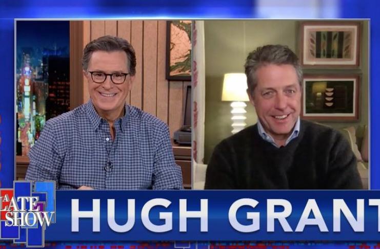 Hugh Grant confirma que ele teve coronavírus