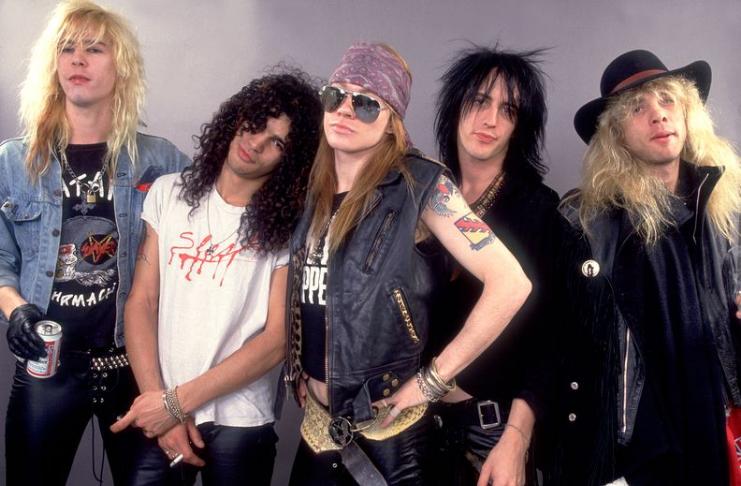 Guns N 'Roses anuncia turnê de 2021 pela Austrália