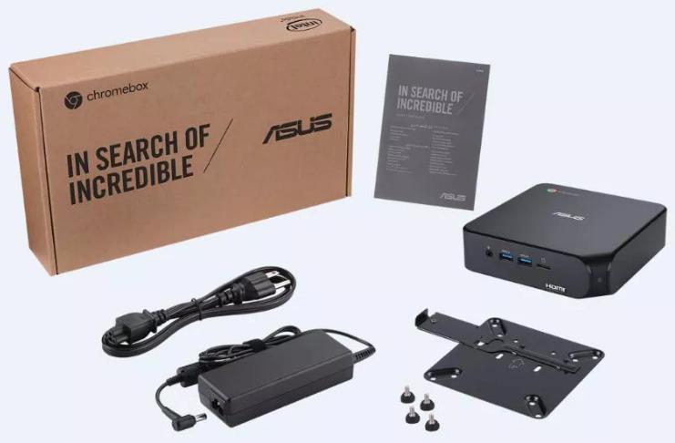 Asus anuncia novo Chromebox 4 com processadores Intel de 10ª geração