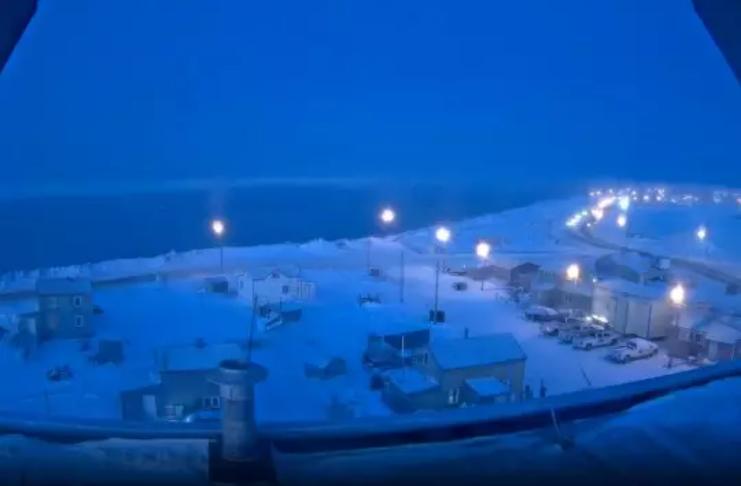 Sol se põe pela última vez em 2020 na cidade do Alasca