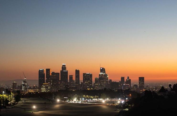 Filmagens em Los Angeles diminuem 8% em novembro