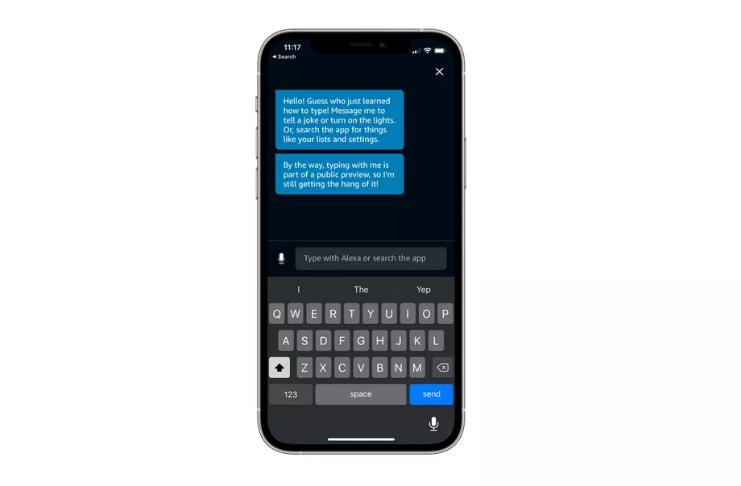 Amazon agora permite que você envie mensagens de texto para Alexa no iOS