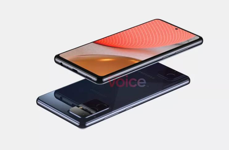 Primeira olhada no próximo Galaxy A72 5G de médio porte da Samsung!