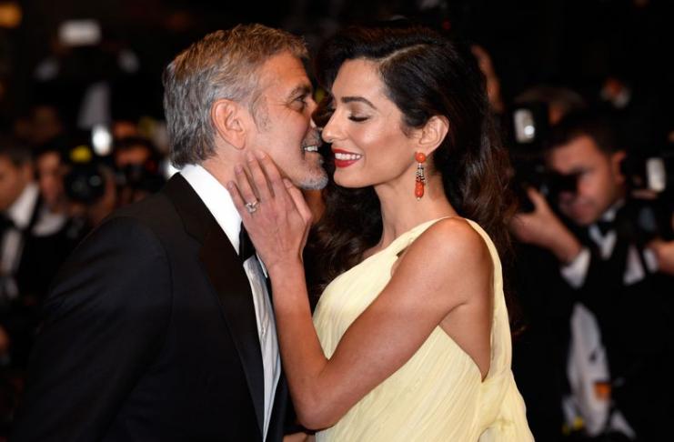 Amal Clooney agradece a George Clooney por apoio em seu livro