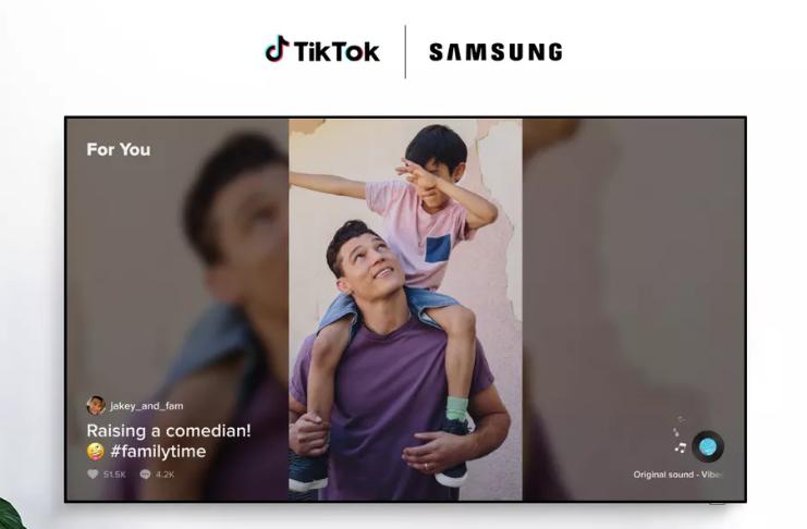 Aplicativo TikTok TV está disponível nas smart TVs Samsung no Reino Unido