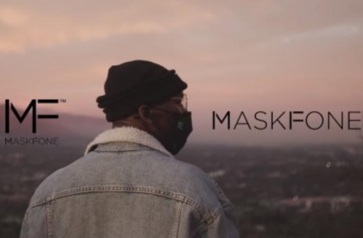 Binatone MaskFone: Primeira máscara N95 lavável do mundo, com microfone embutido