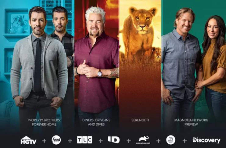 Discovery Plus está disponível no Roku e Fire TV