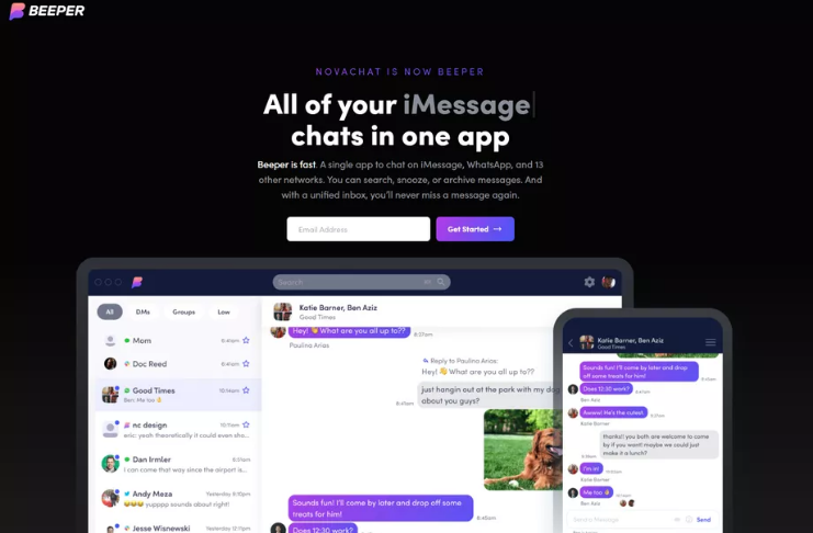 Fundador da Pebble promete iMessage no Android e Windows com aplicativo de bate-papo universal