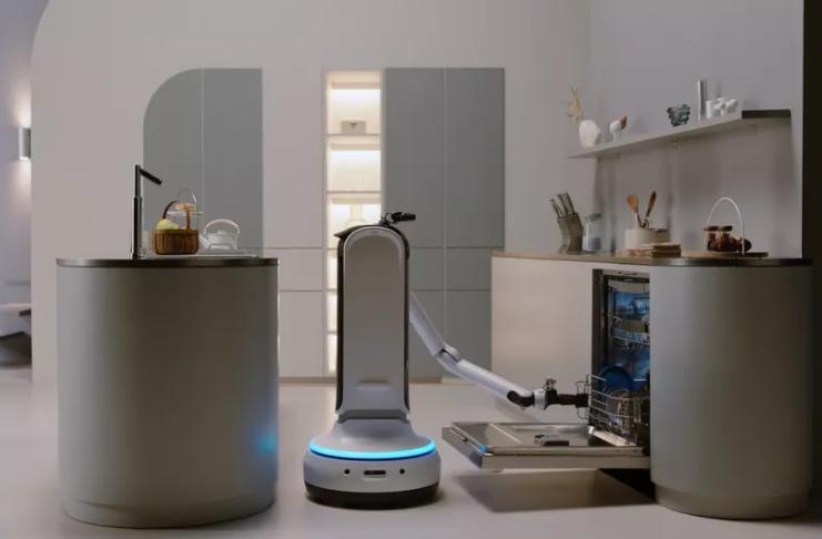 Samsung está fazendo robô que pode servir vinho e trazer-lhe uma bebida