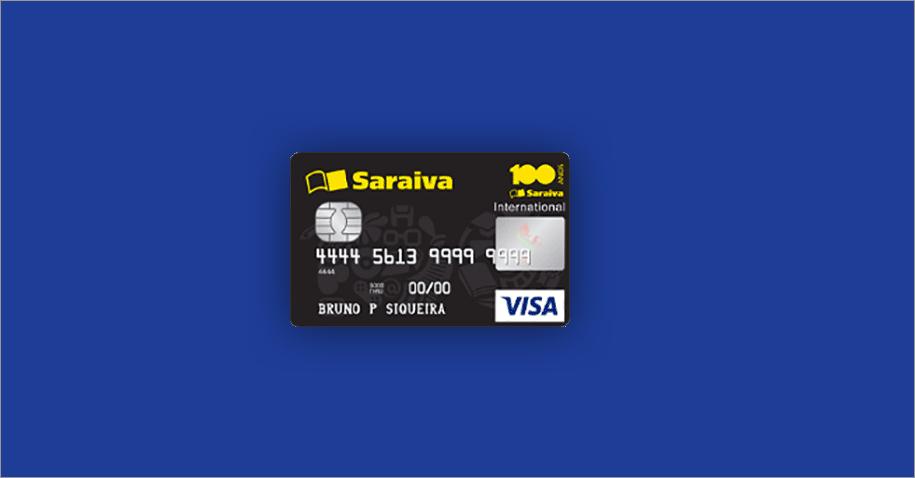 Cartão internacional Saraiva - conheça e saiba como solicitar