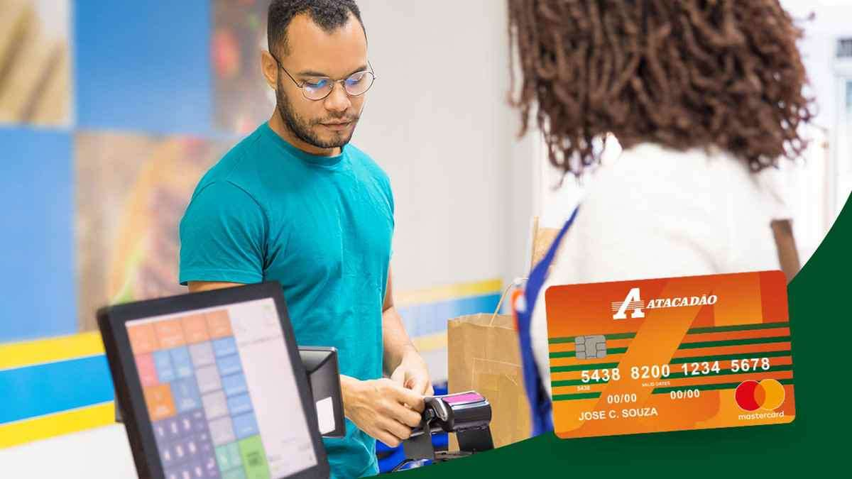Veja como faço para pagar as compras do mês em até 24x com o Cartão Atacadão
