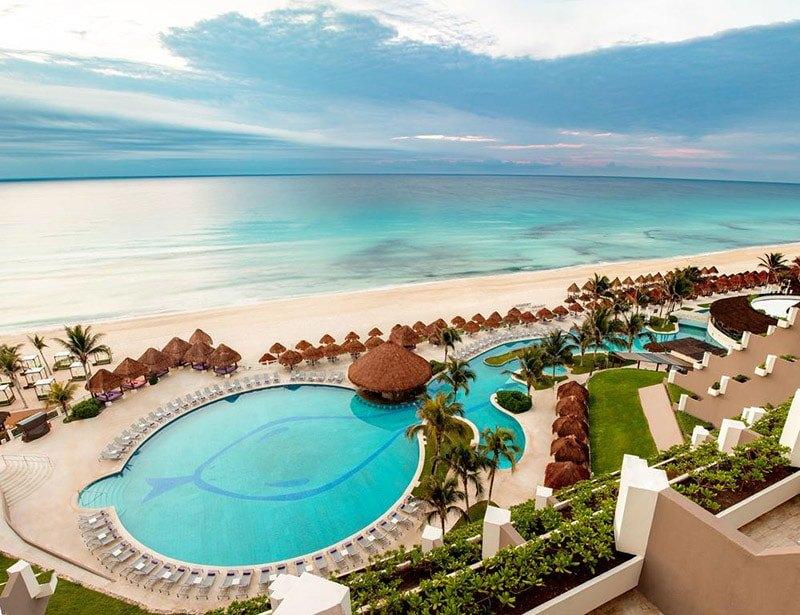 Os 7 melhores hotéis de luxo de Cancún