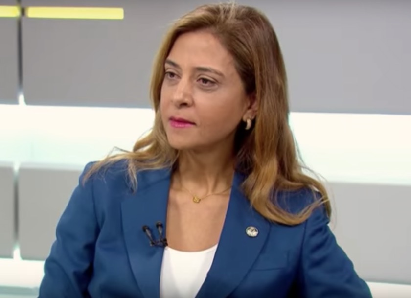 Leila Pereira é a empresária que preside a FAM e a Crefisa