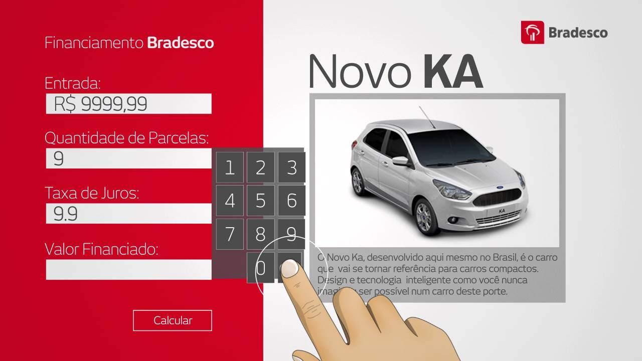 Financiamento Bradesco - Aprenda a simular a compra do seu novo carro