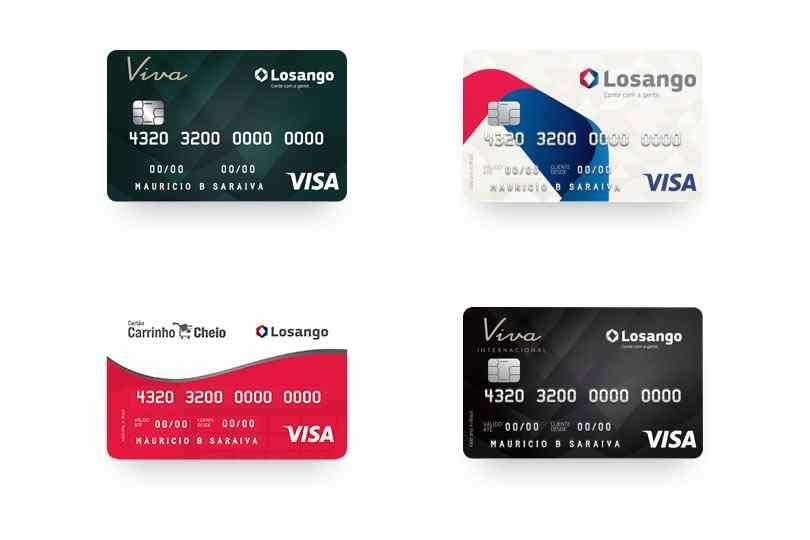 Cartão Losango - Descubra como solicitar pela internet